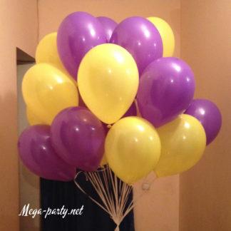 желто фиолетовые
