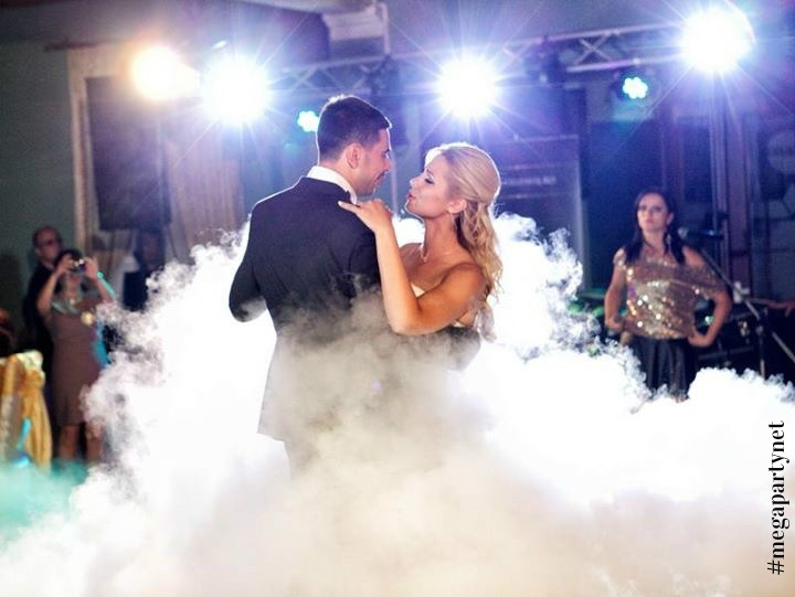 Smoke machine for wedding