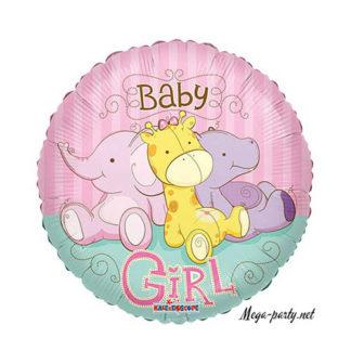шарики на рождение дочери