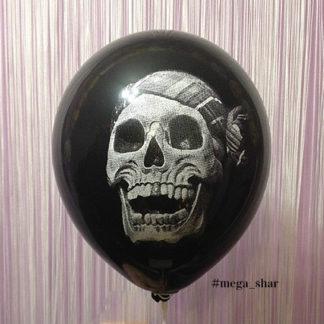 шарики с черепом