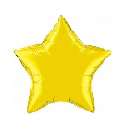 шар звезда желтая