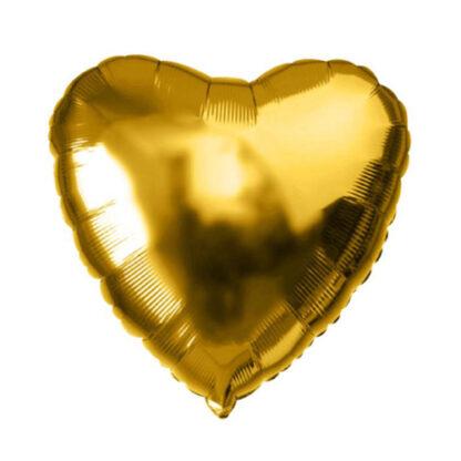 фольгированное сердце