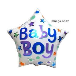 шарики на рождение сына