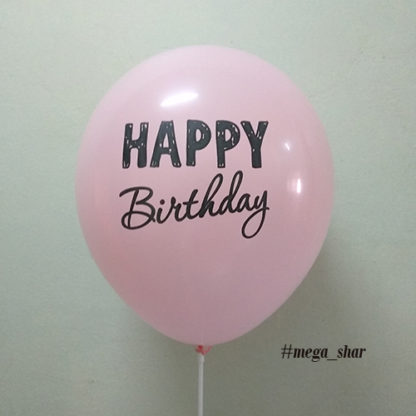 шарики ко дню рождения