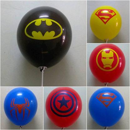супергерои шарики