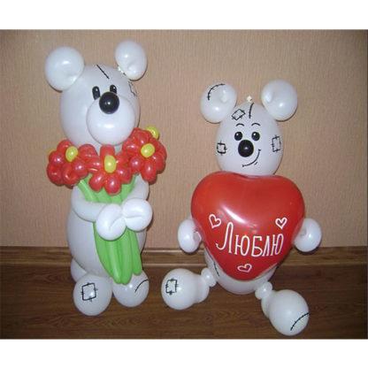 мишки любовь