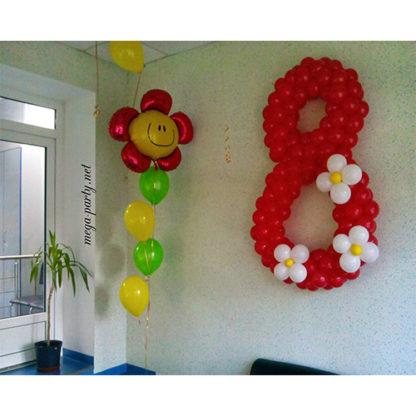 восьмерка цветки