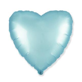 сердце голубое
