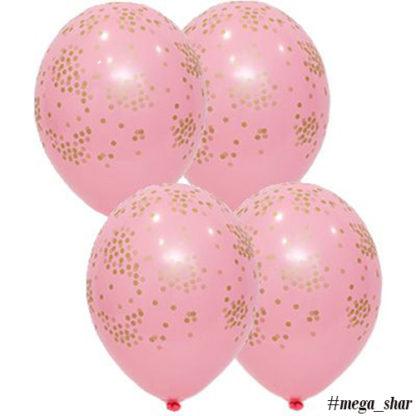 конфетти розовый