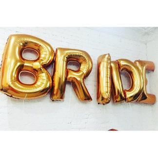 буквы bride