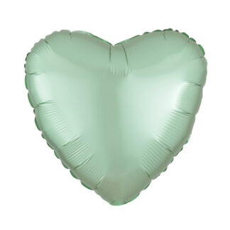 шар сердце мятное