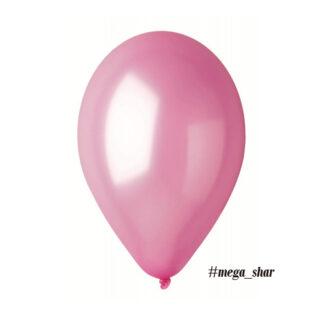 шар розовый перламутровый