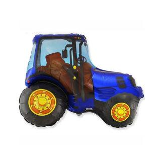 шар синий трактор