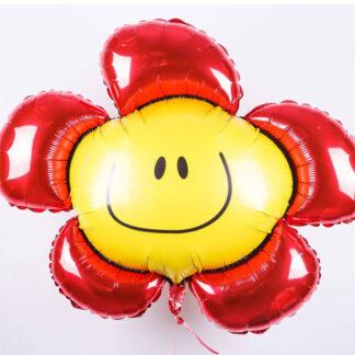 шар цветок смайл