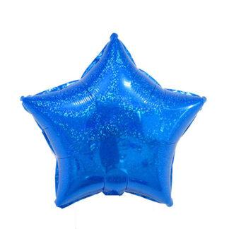 шар голограмма синяя