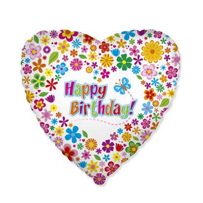 шар сердце Birthday
