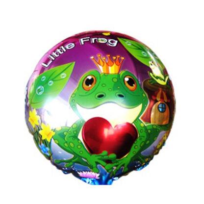 шарик лягушка