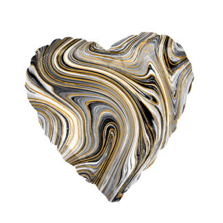 сердце агат