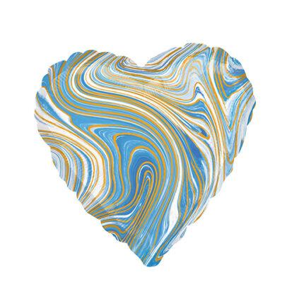 сердце с разводами